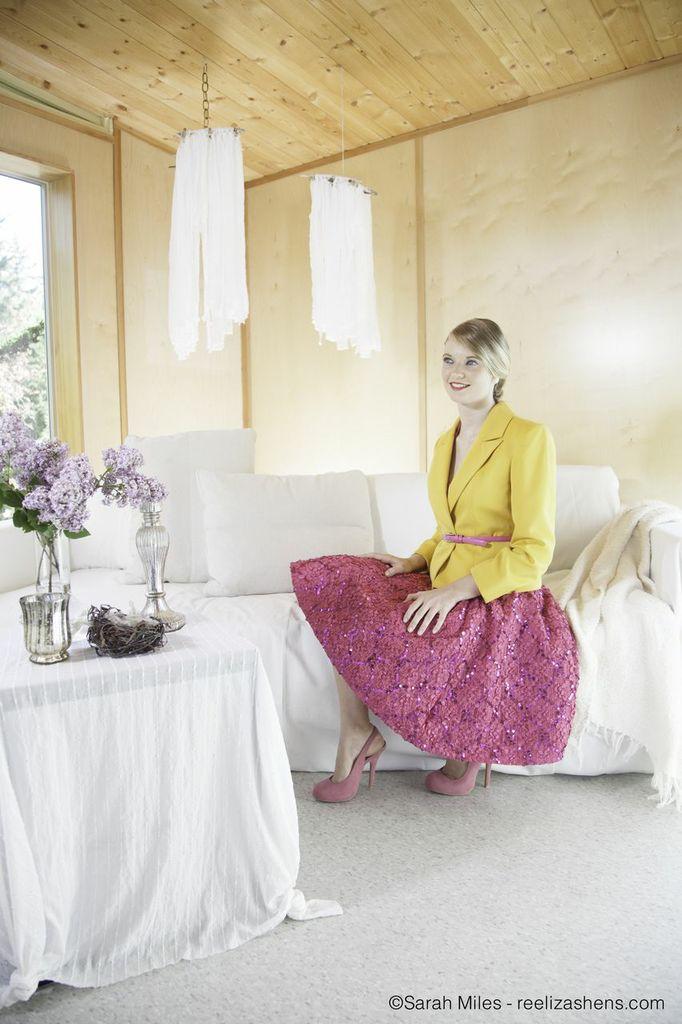 interior styling-fashion photo shoot