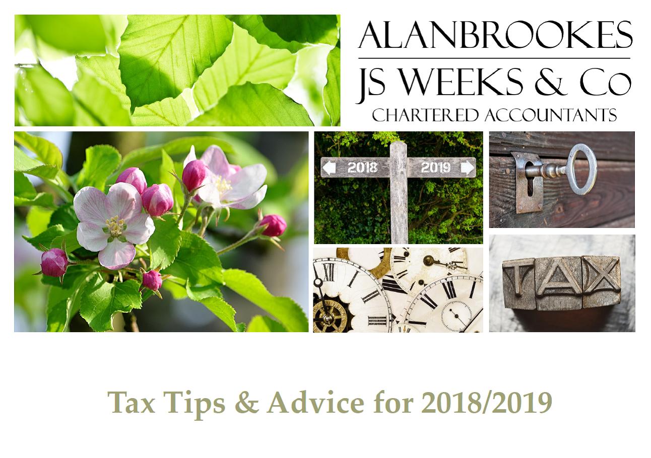 TAX TIPS & ADVICE 2018/2019