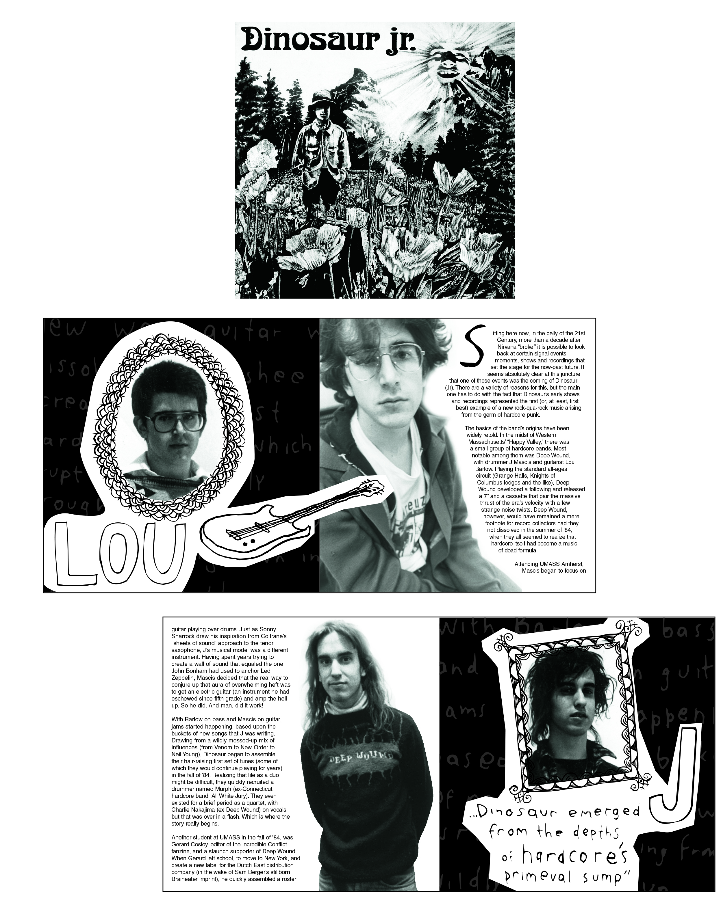 Re-issue of Dinosaur Jr. Record Client: Merge Records