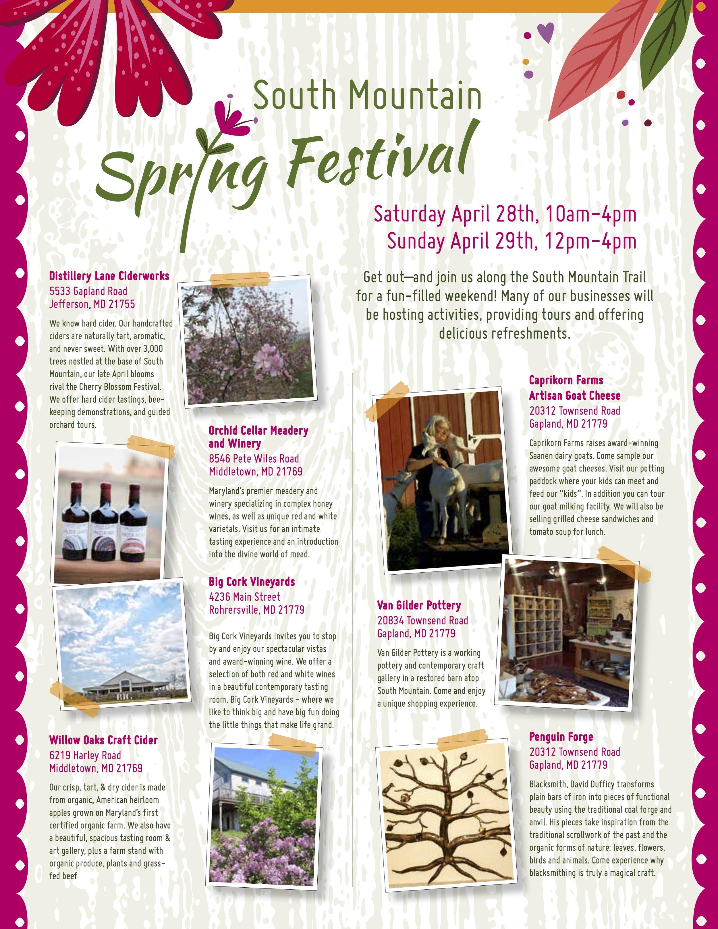 South Mountain Spring Festival 2018