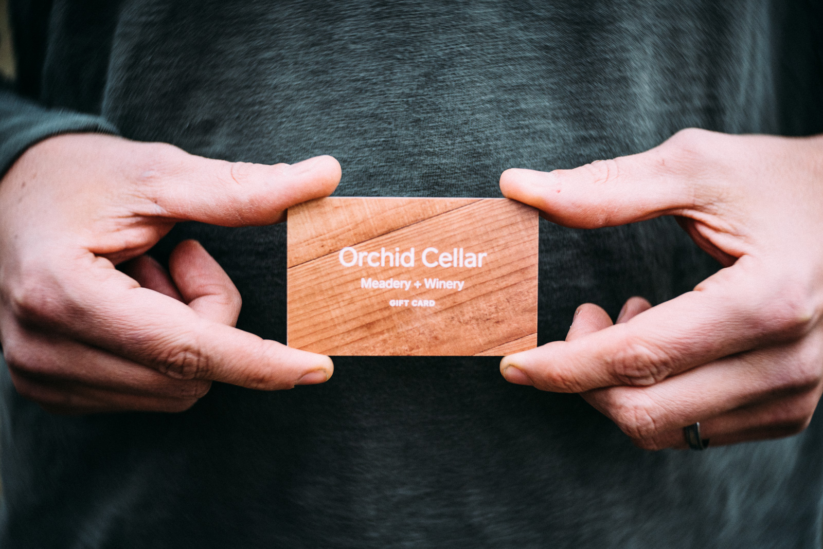 When you're not sure what to get… - Grab a gift card for any tasting room purchase. Just like honey, it never expires.