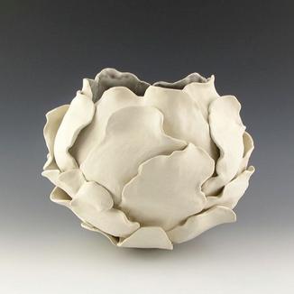 Ceramic Sculptural  Bloom Vessel