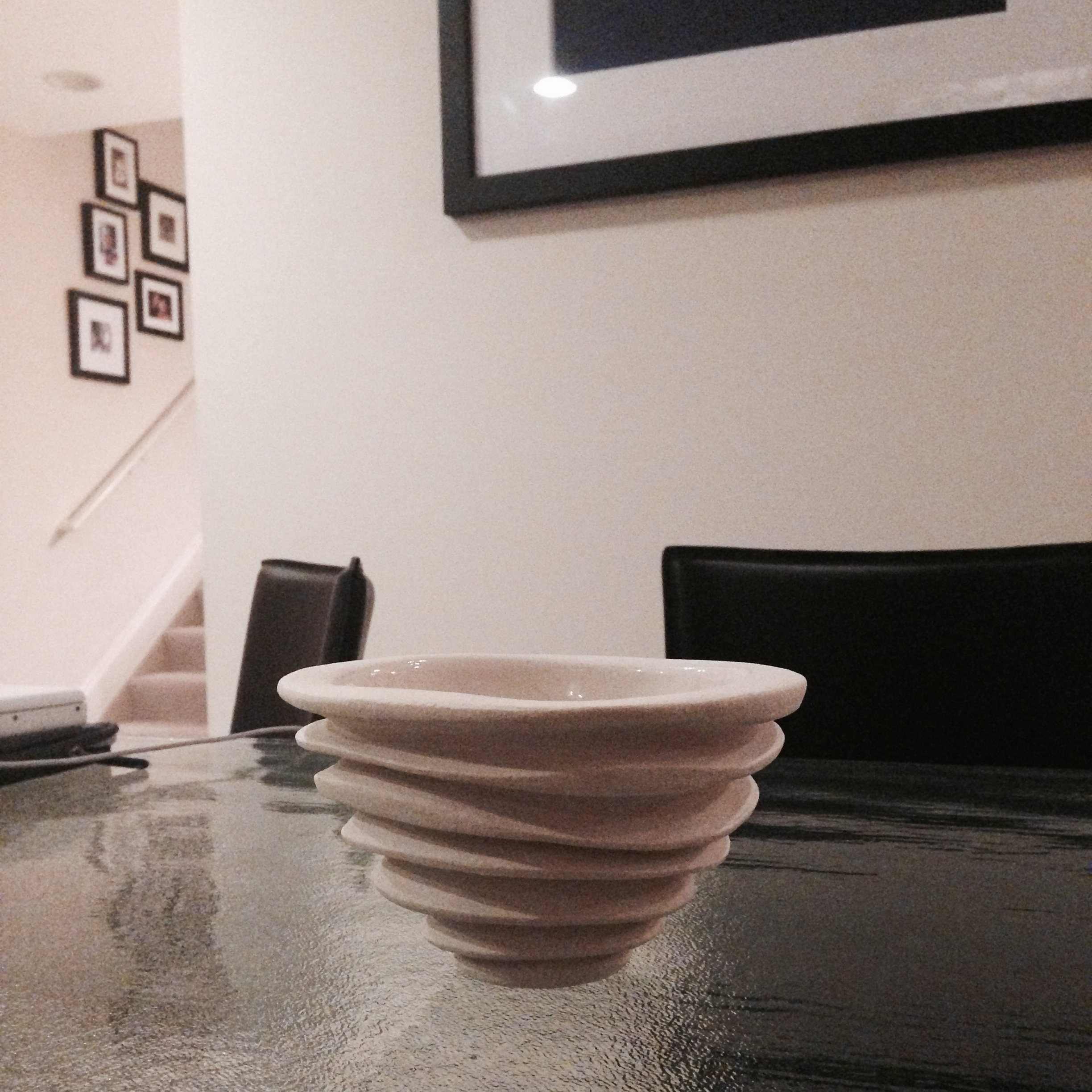 Contemporary Sculptural Ceramic Bowl