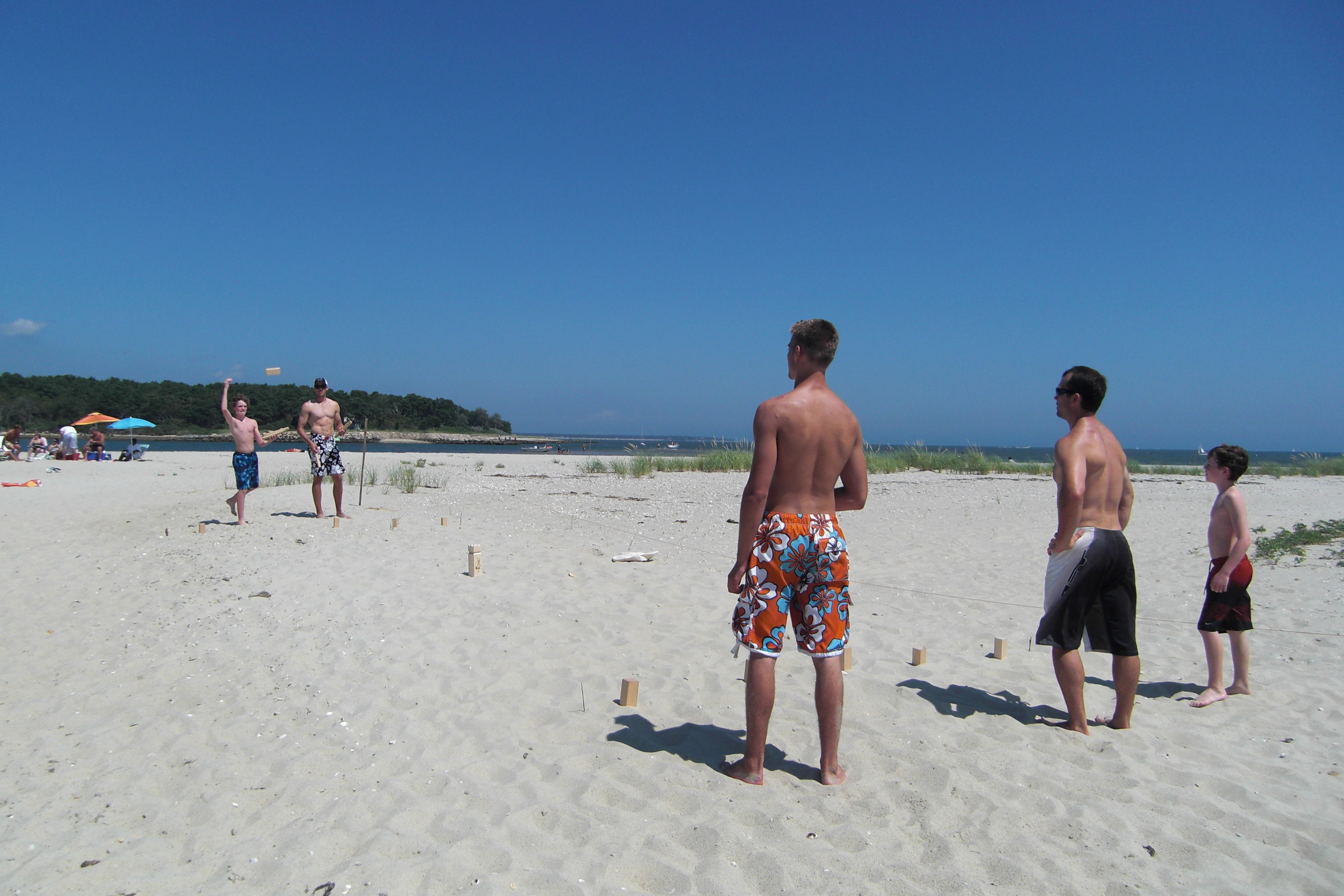 V:King on the beach in Cape Cod, MA