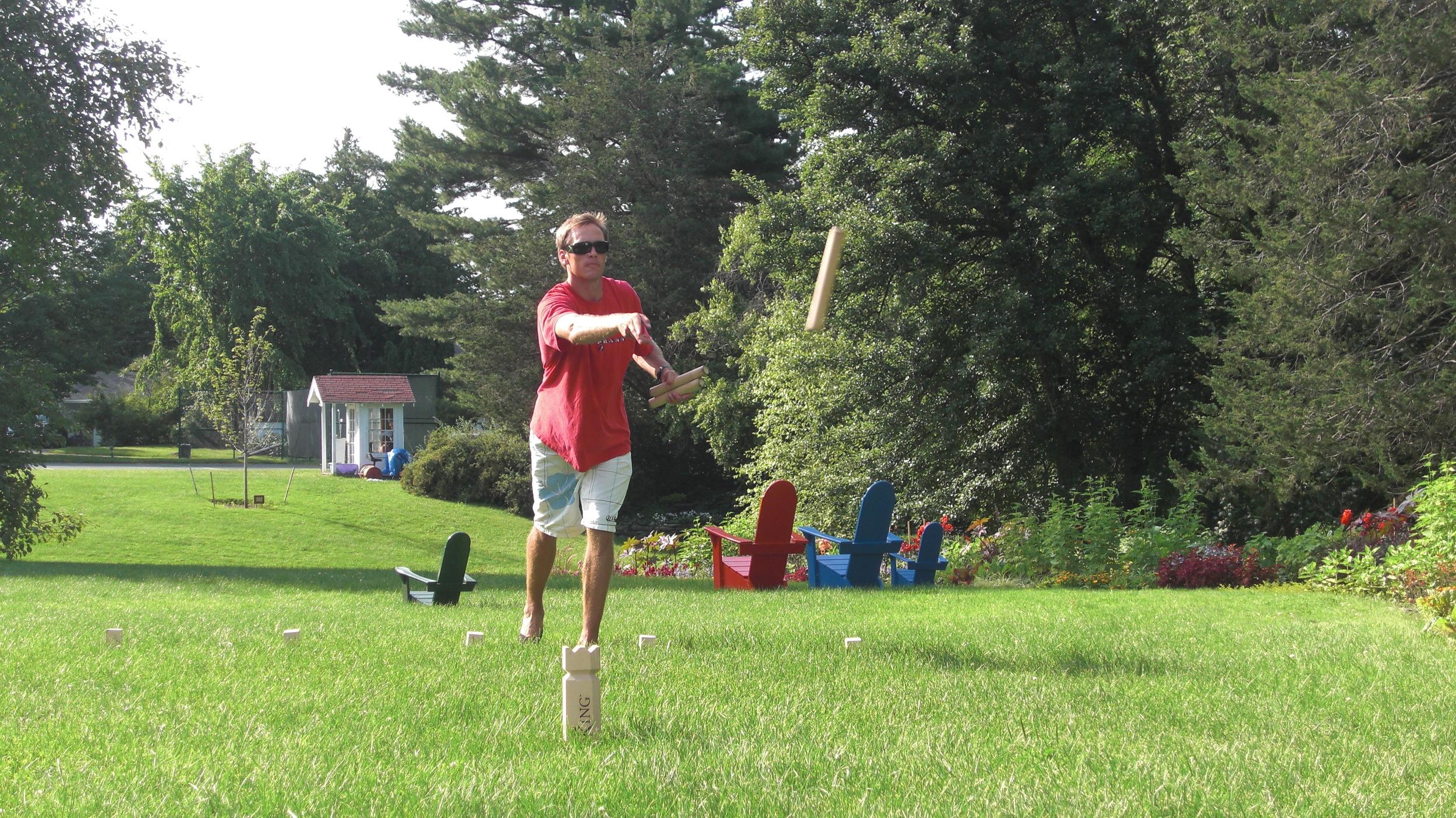 V:King in play at Basin Harbor Club
