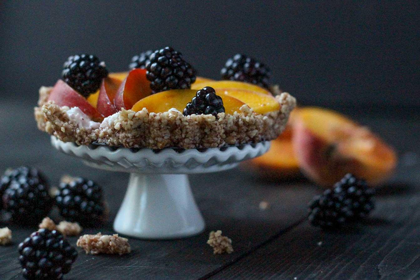 Peach Berry Tart