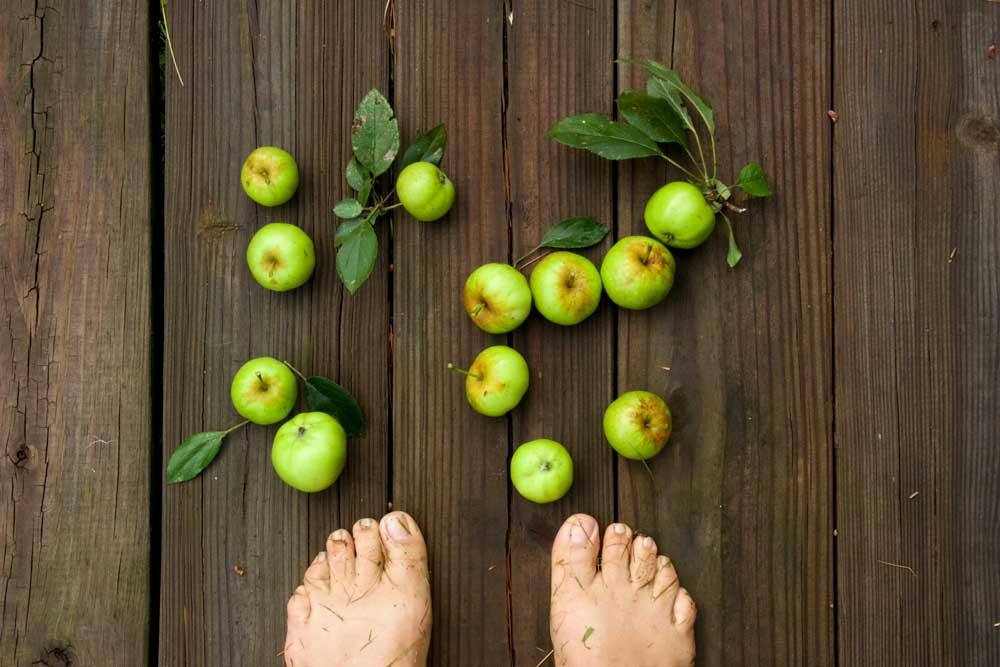 Crabapples Feet