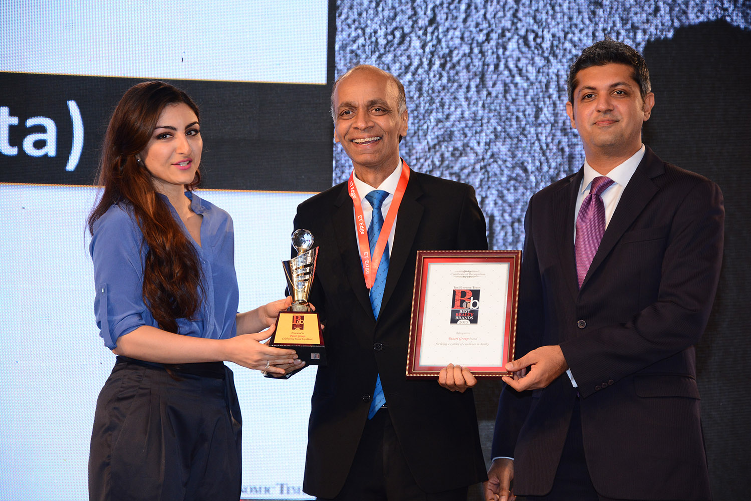 Awarded one of the Best Realty brands across India by The Economic Times