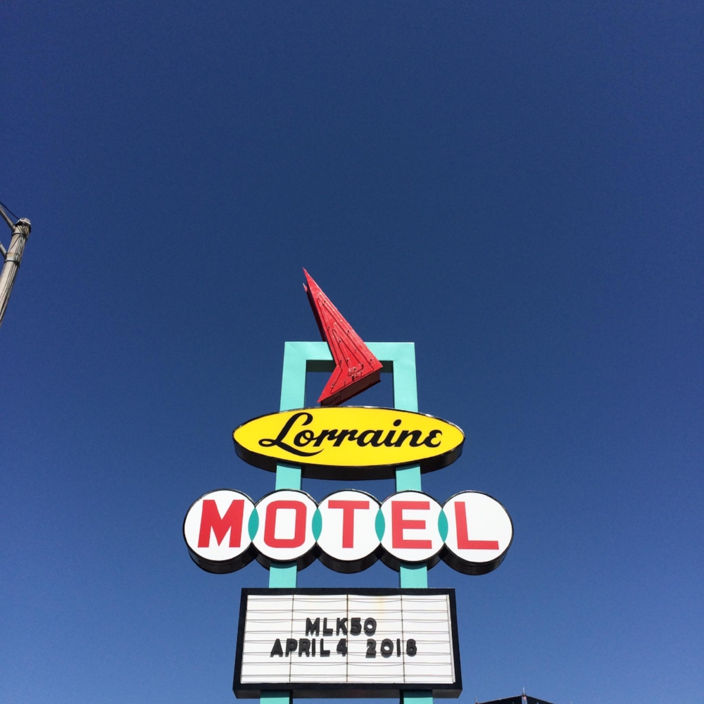 Lorraine Motel at the National Civil Rights Museum