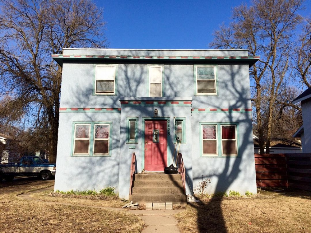 Former residence of the Zimmerman family in Hibbing, MN.