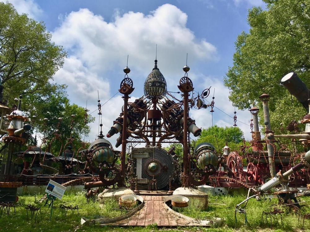 Dr. Evermore's Forevertron in North Freedom, WI.