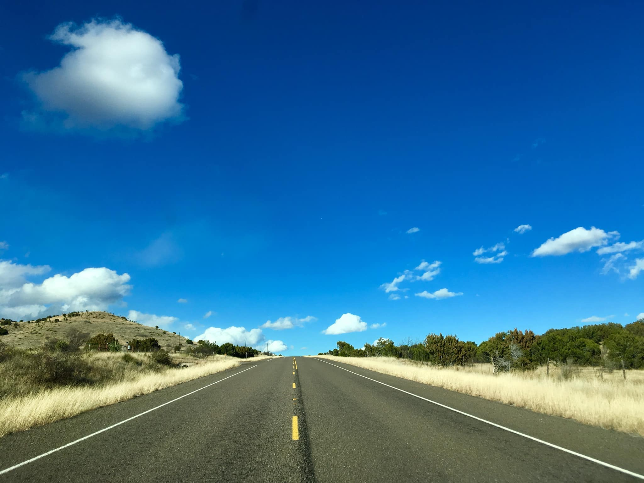 Driving from Terlingua to Marfa