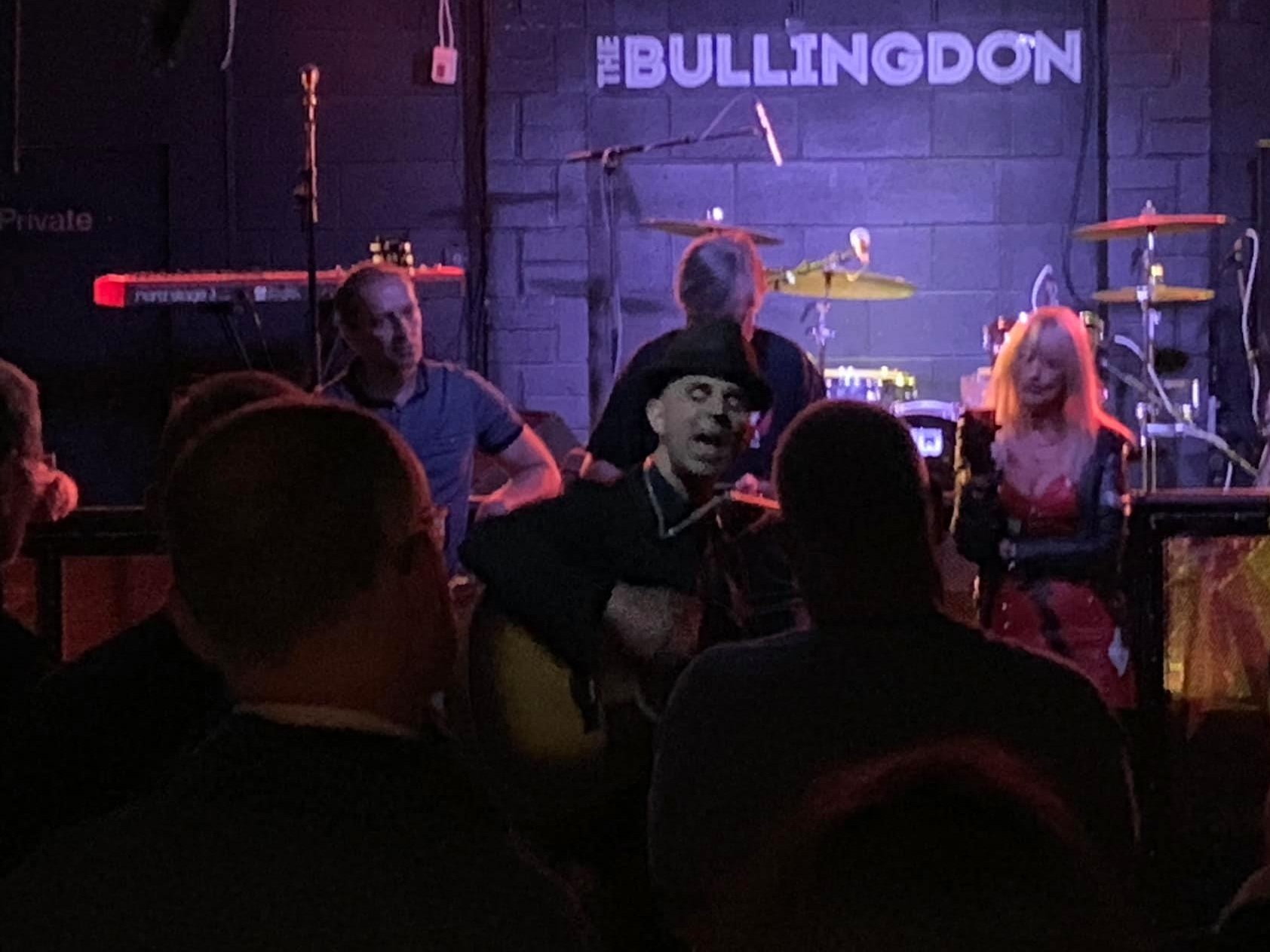 Singing in the crowd at The Bullingdon. (Oxford)