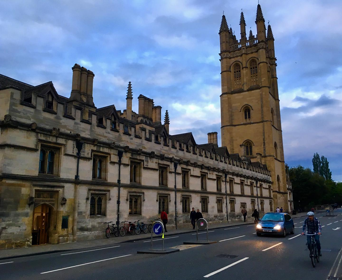 Sunset at The University of Oxford.
