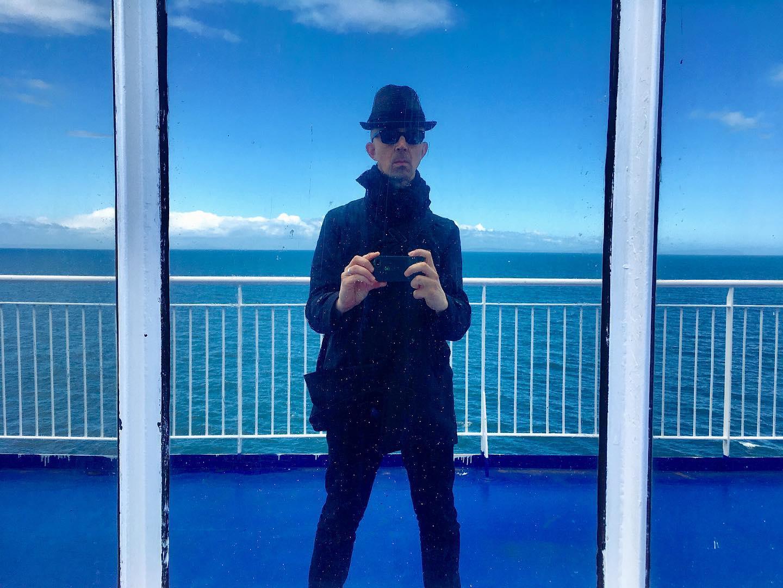 Ferry selfie.