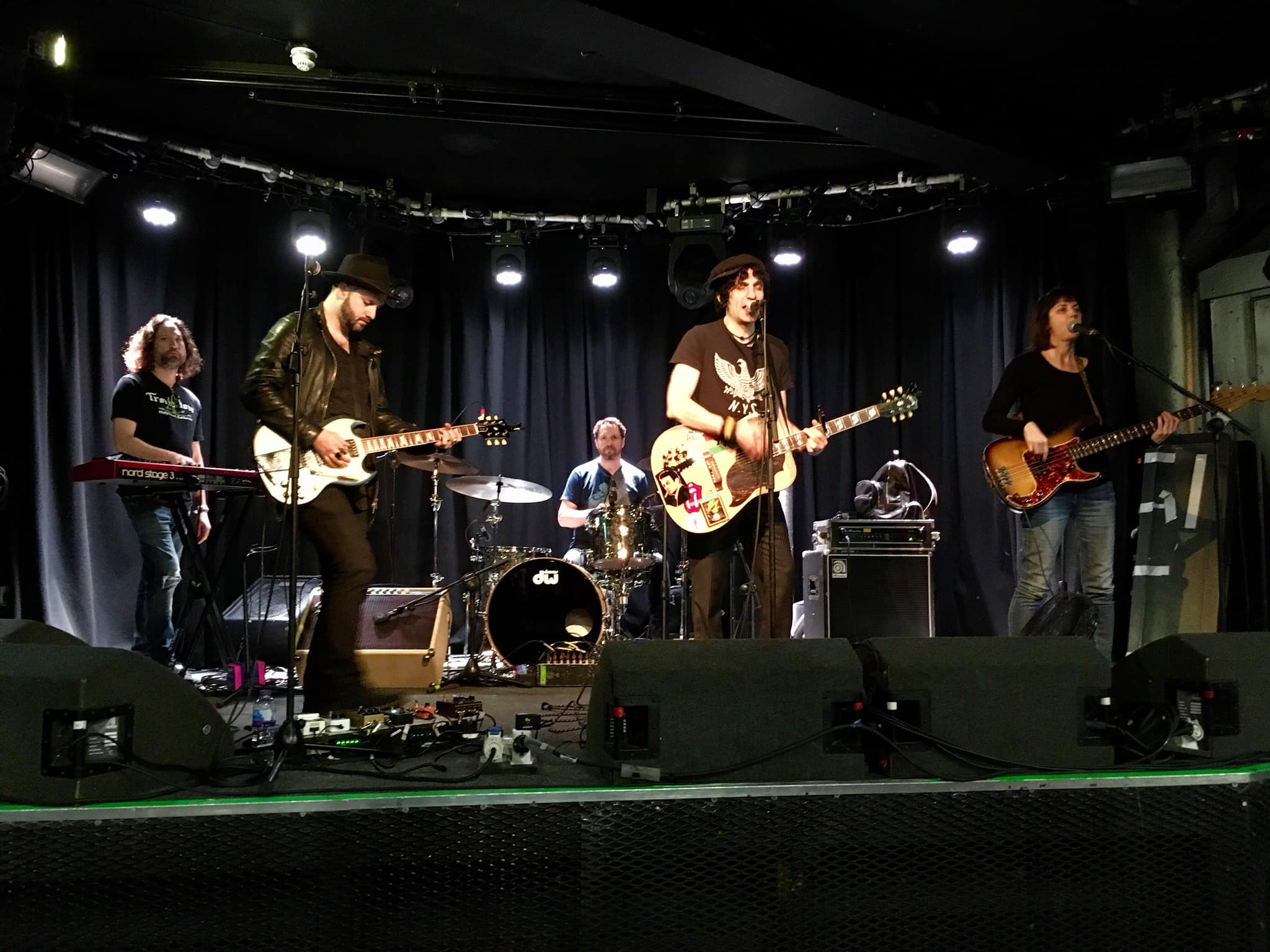 Jesse Malin band soundcheck at Limelight. (Belfast)