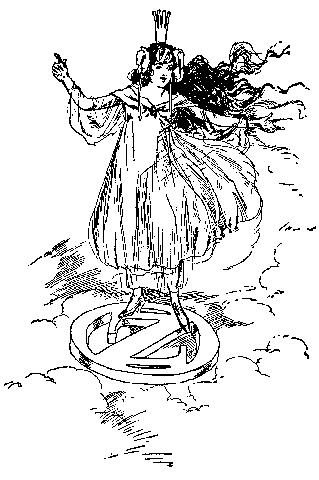 Princess Ozma of Oz, from the original novels.