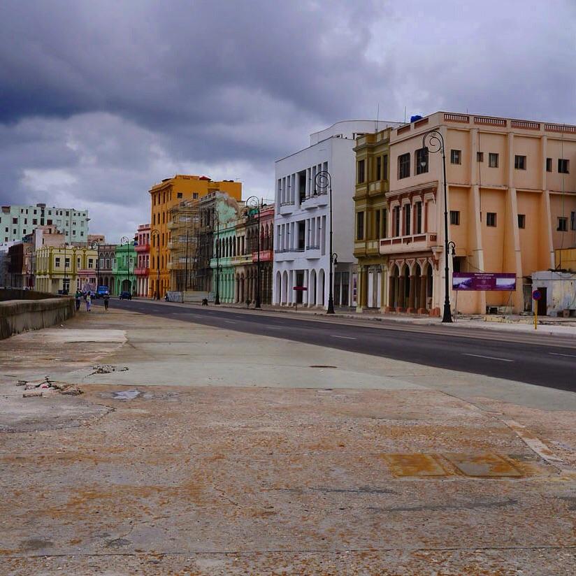 Kaleidoscope, Malecon, Havana (2015)