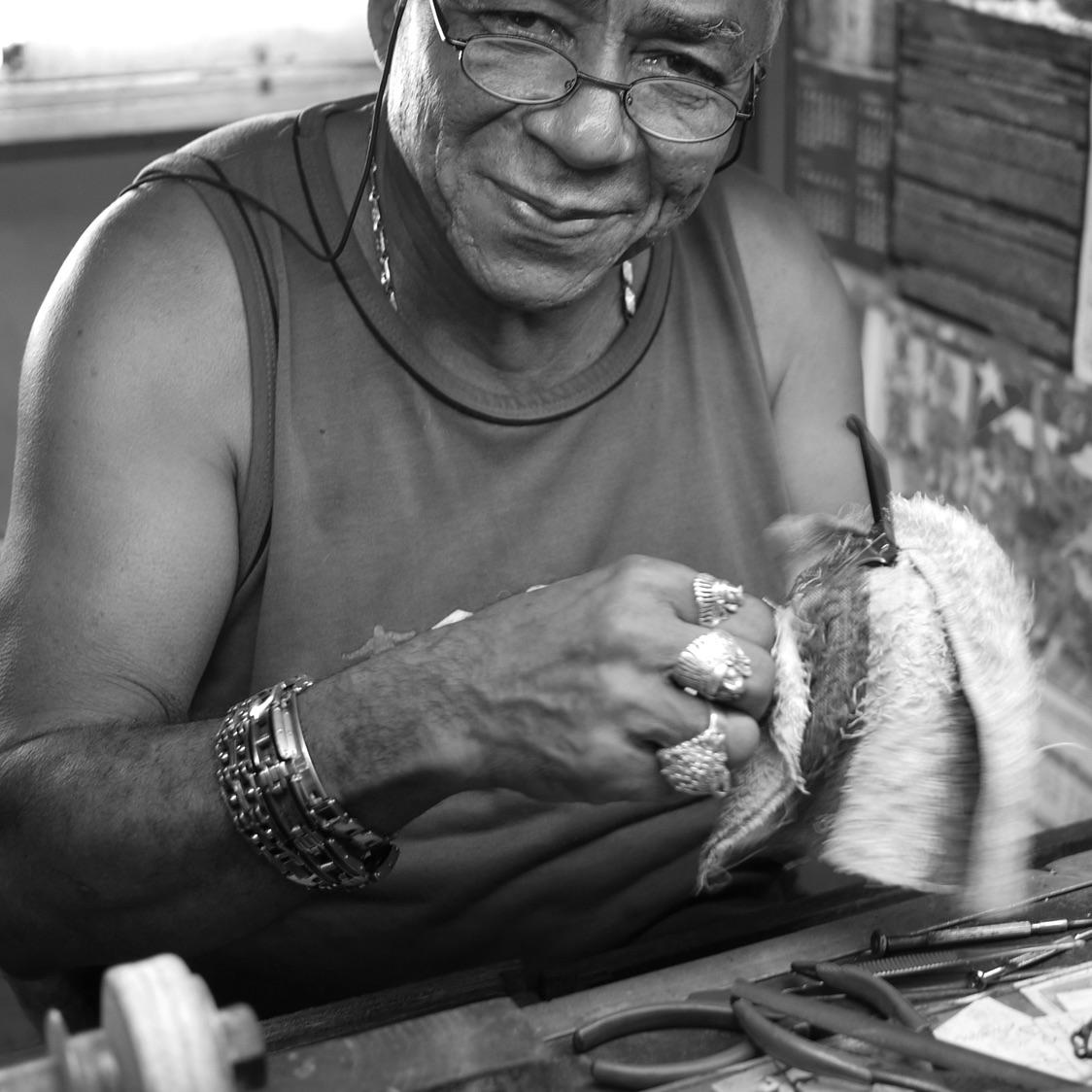 Glasses Repairman, Centro Havana, (2015)