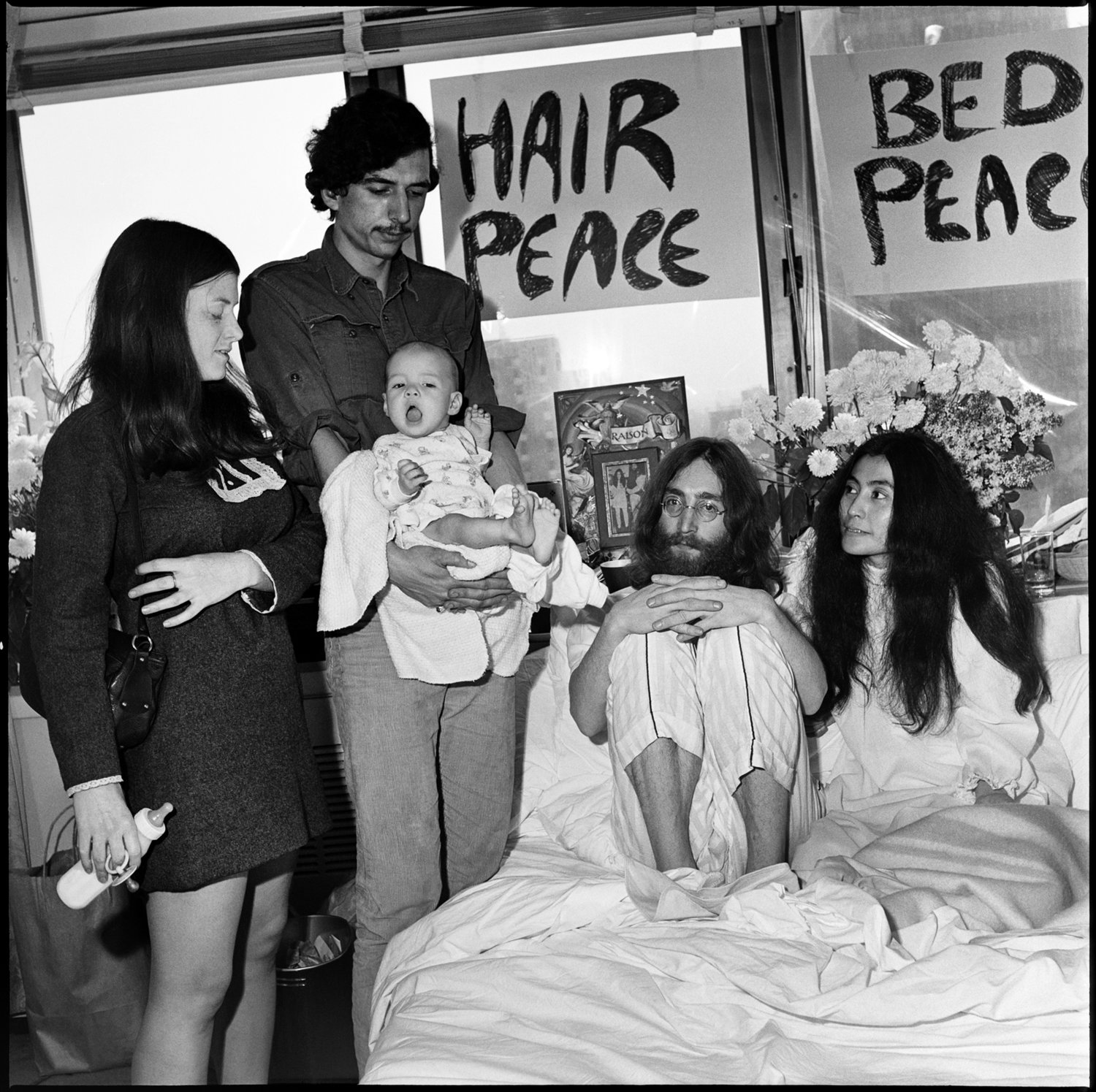 Hair Peace/Bed Peace, Montreal, 1969