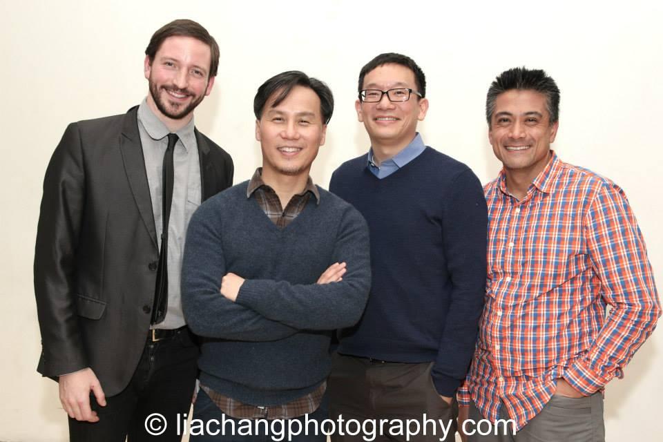 Andrew, BD Wong, Robert Lee and Ariel Estrada