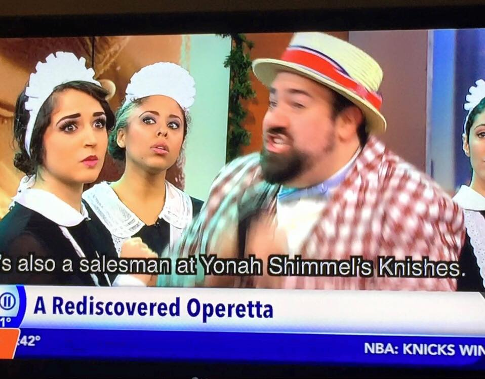 Di Goldene Kale (The Golden Bride)   at The National Yiddish Theatre Folksbiene   On PIX11