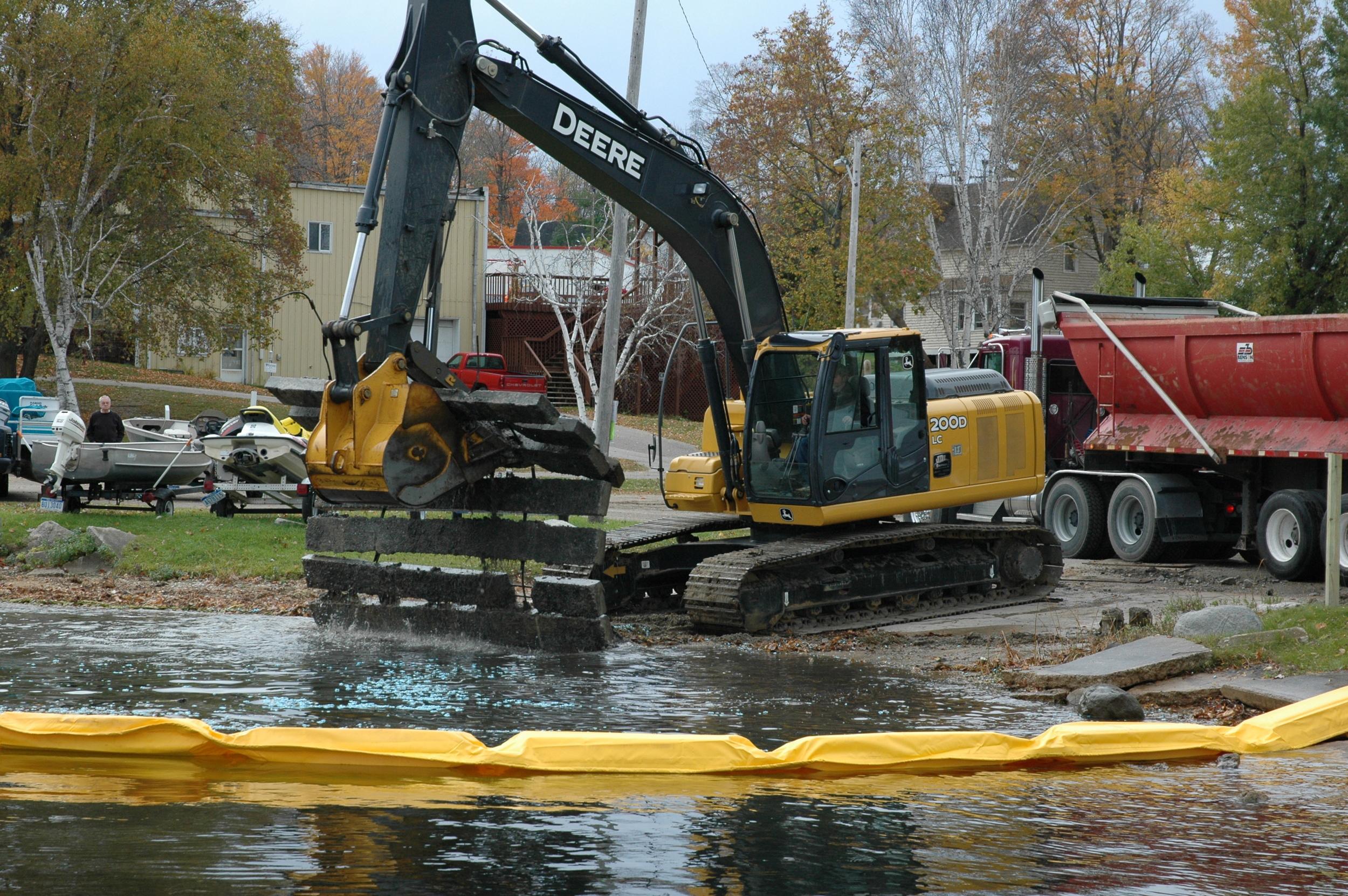 Bear Lake Boat Launch Improvements, photo 1