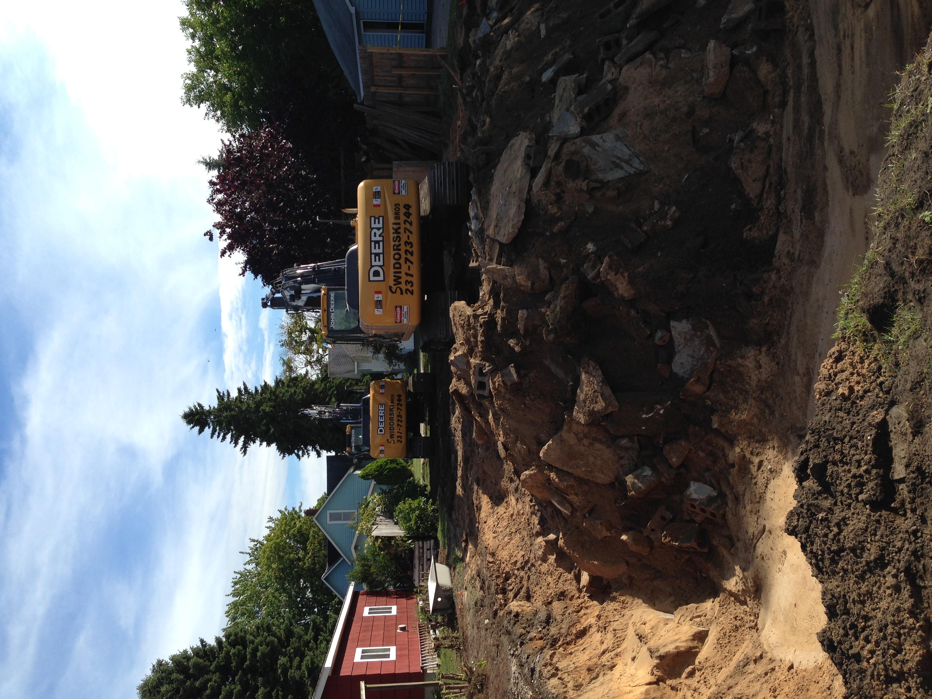 House Demolition on MagillStreet, Manistee