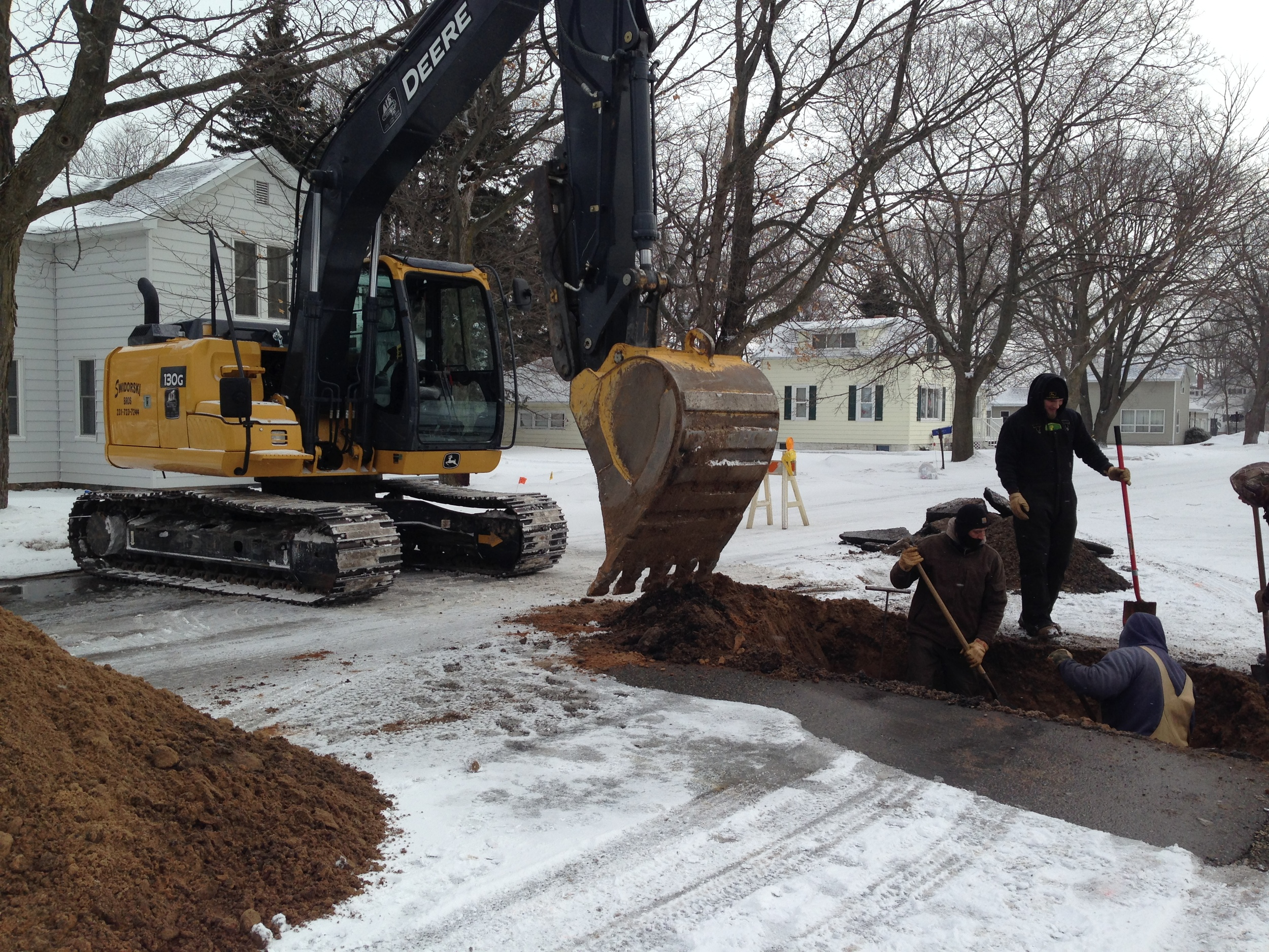 Filer Township Water Service Repair