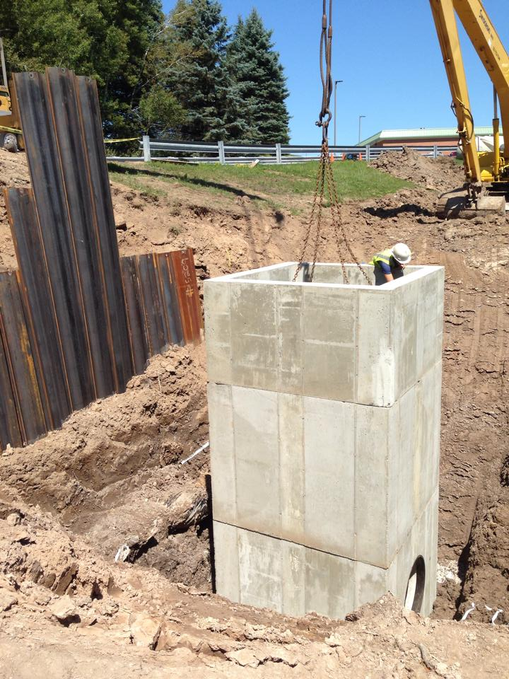 WSCC Dam Repair Project: structure set