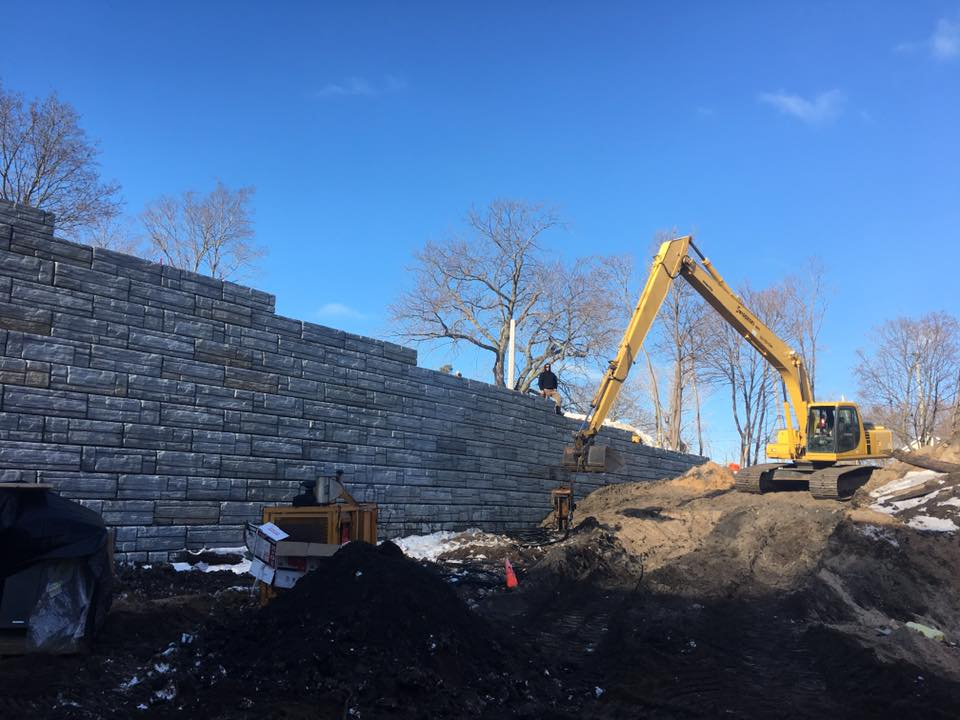 Short Street Retaining Wall Project