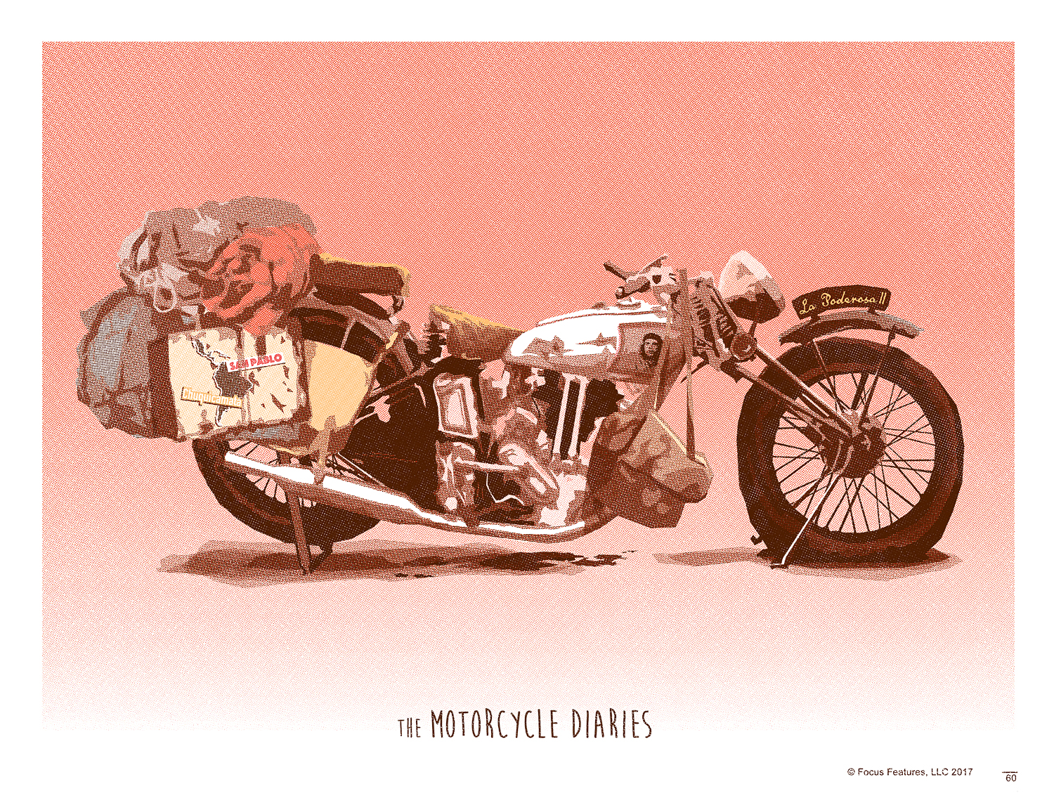 Motorcycle Diaries Screen Print