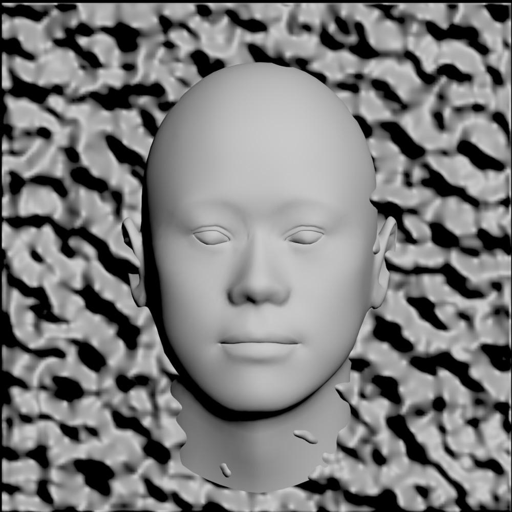 Shaded Face