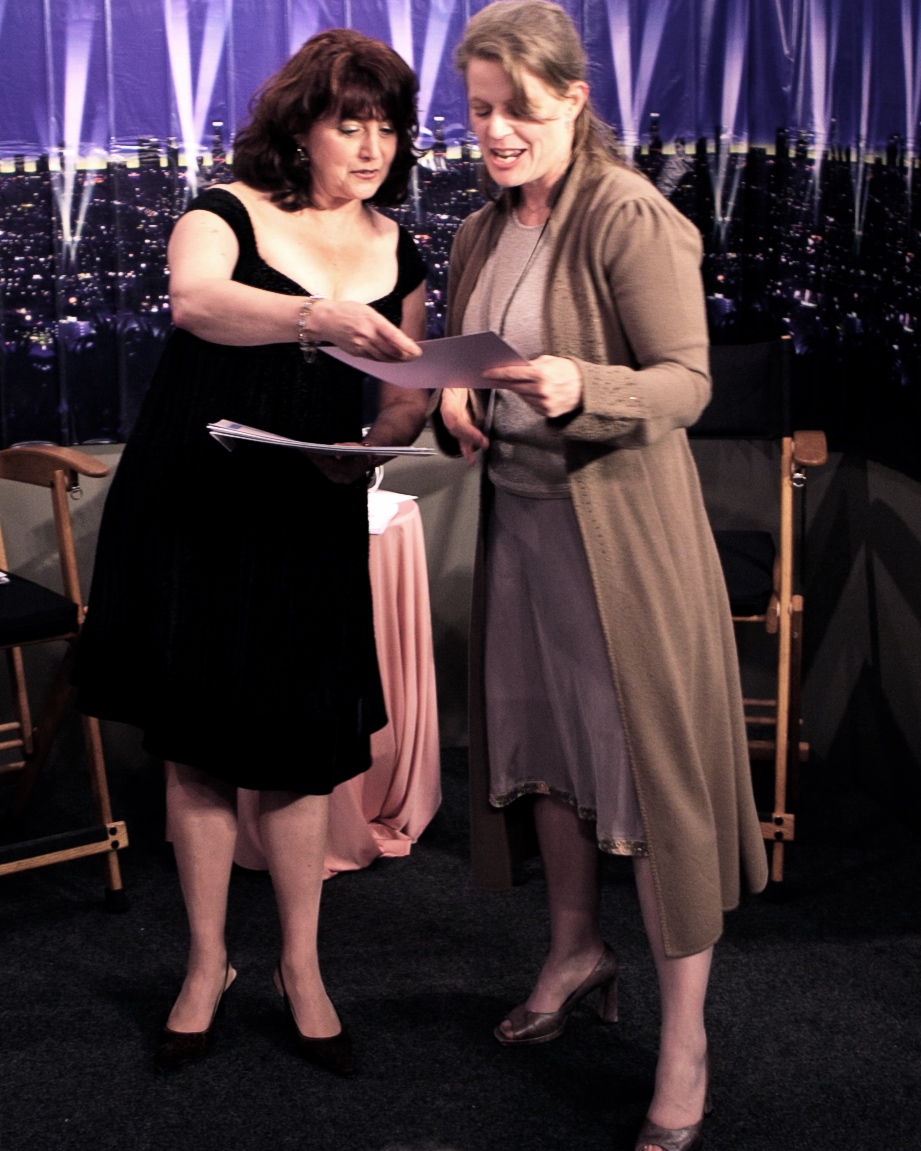 FIRST BEST ACTOR OF THE FESTIVAL WINNER MARGARET FOLWELL WITH DIANE MERLINO 2011