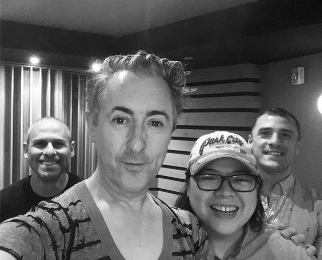 Recording the amazing  @alancummingsnaps at @kilgorestudios for the upcoming @randyrainbow Christmas record!  Thrilled to be producing this album and grateful to be in the room with all of these guys! #musicproducer #newmusic