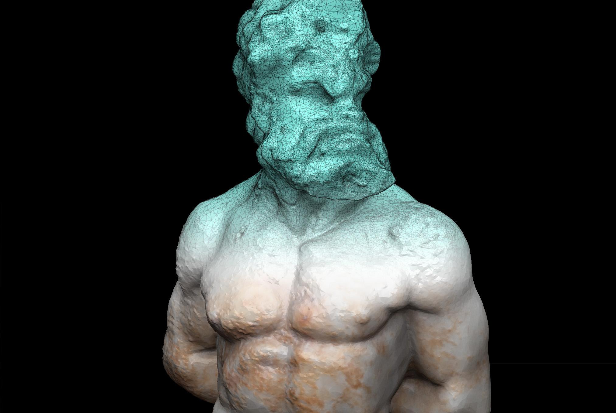 Digital model of the 'cosa faun'