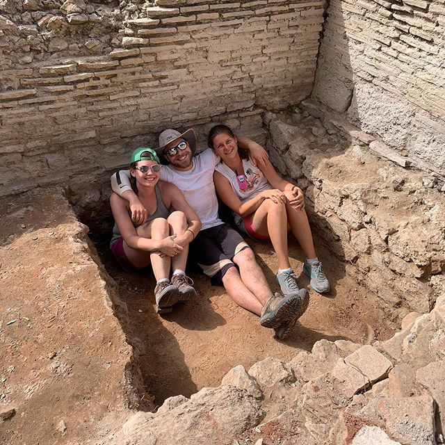 Getting cozy at Cosa! #loveanddirt #cosaexcavations2019