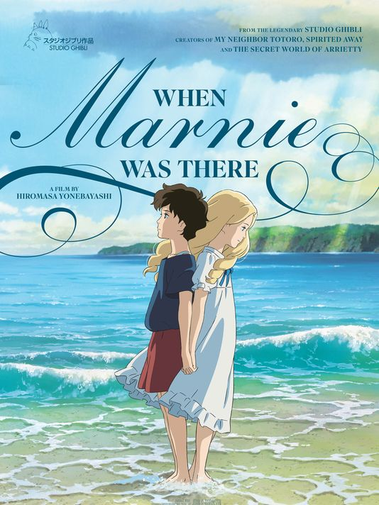 English poster for  When Marnie Was There .  Credit to Studio Ghibli.