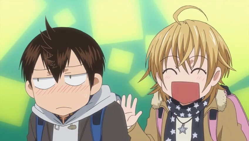 Eiichiro and Natsu share a moment.