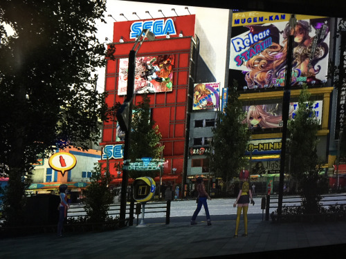 Digimon Story: Cyber Sleuth is compliant with the new law that every game that features Akihabara must include the SEGA building there.