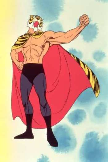 Tiger Mask from the 1969 series.
