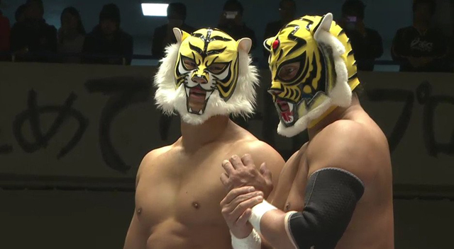 Tiger Mask W and Tiger Mask IV