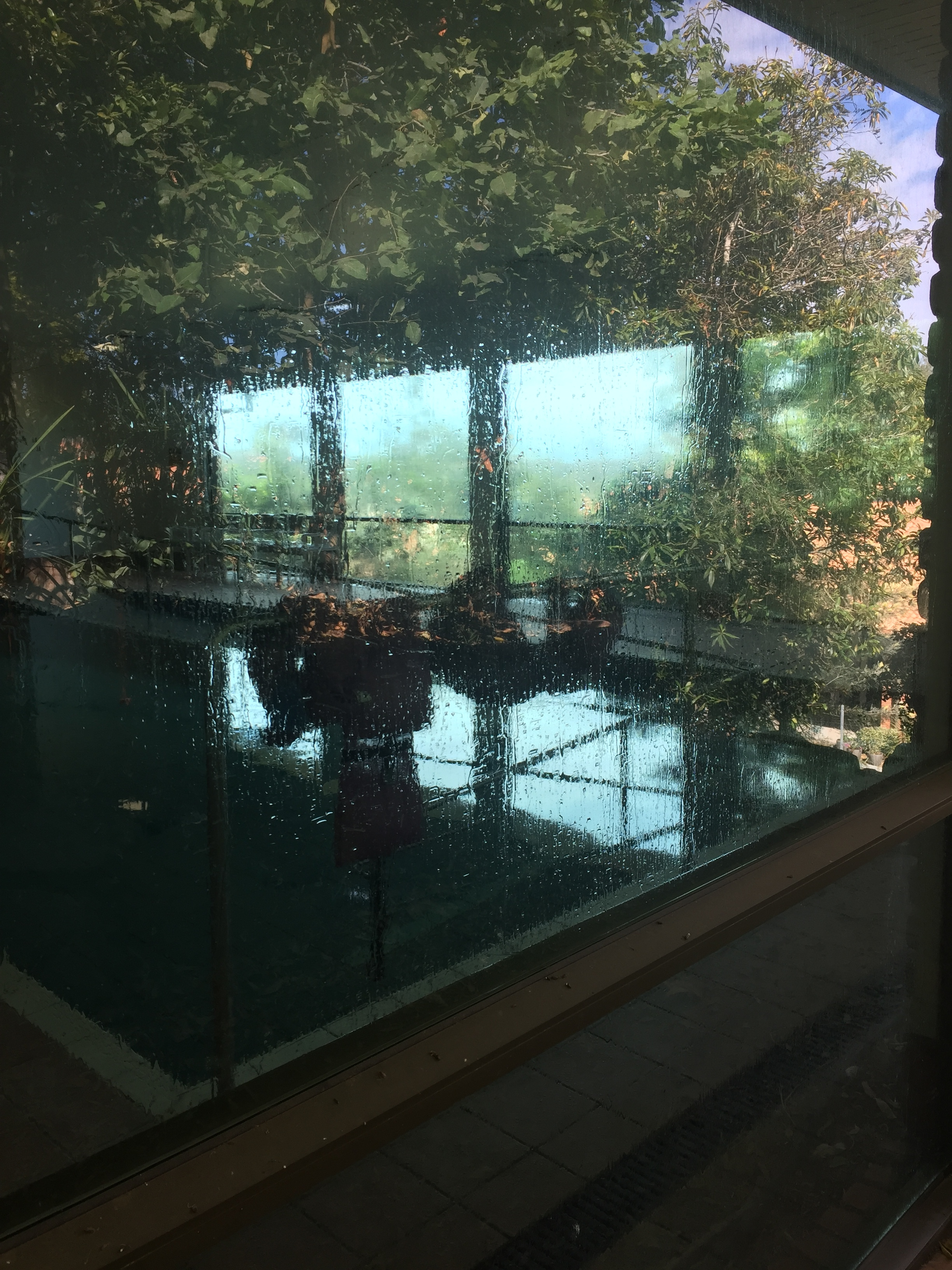 Indoor therapy pool at retirement village
