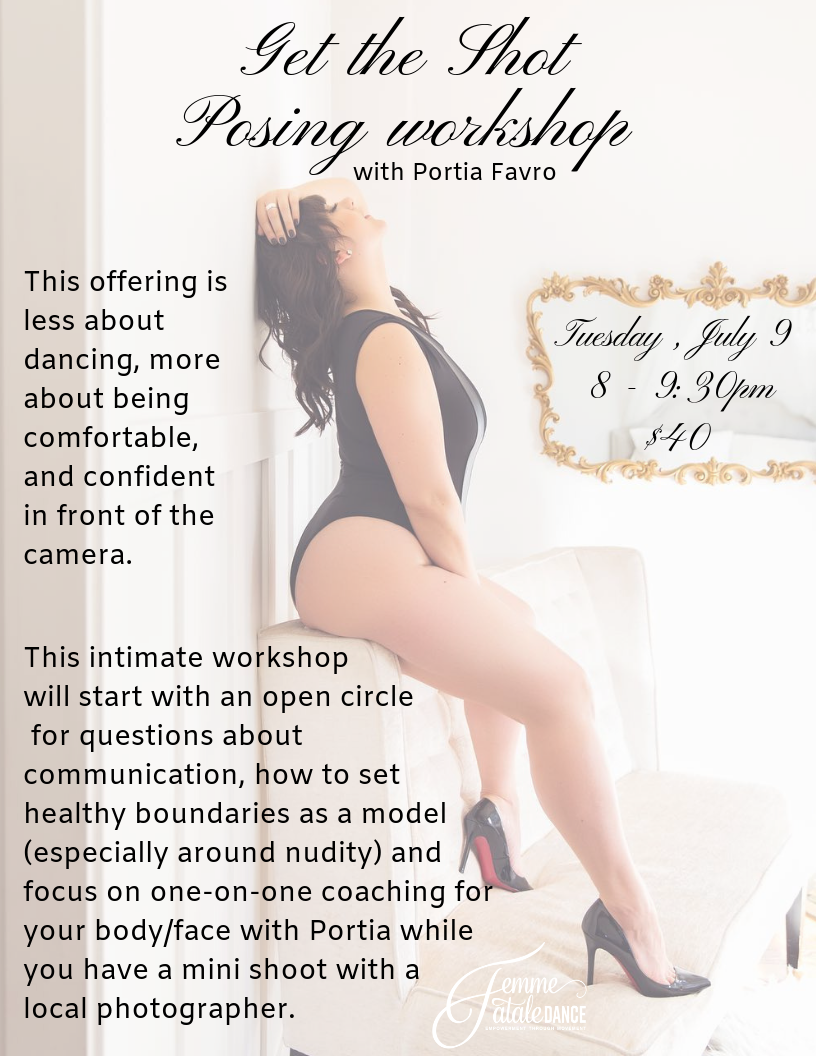 This offering is a little different. Portia Favro + Kristine Cofsky of The Portrait Sessions Photography are teaming up for a photography and posing workshop designed to help you feel more comfortable in front o.png