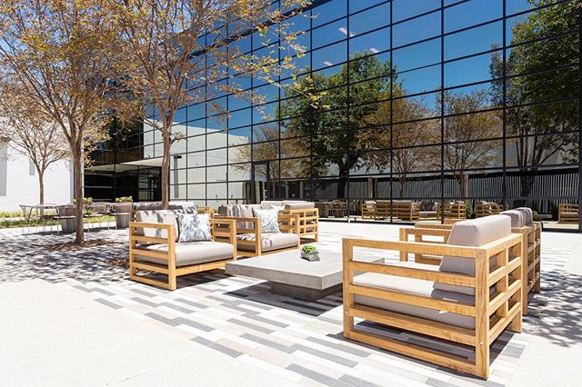 Great patio space at this commercial property.