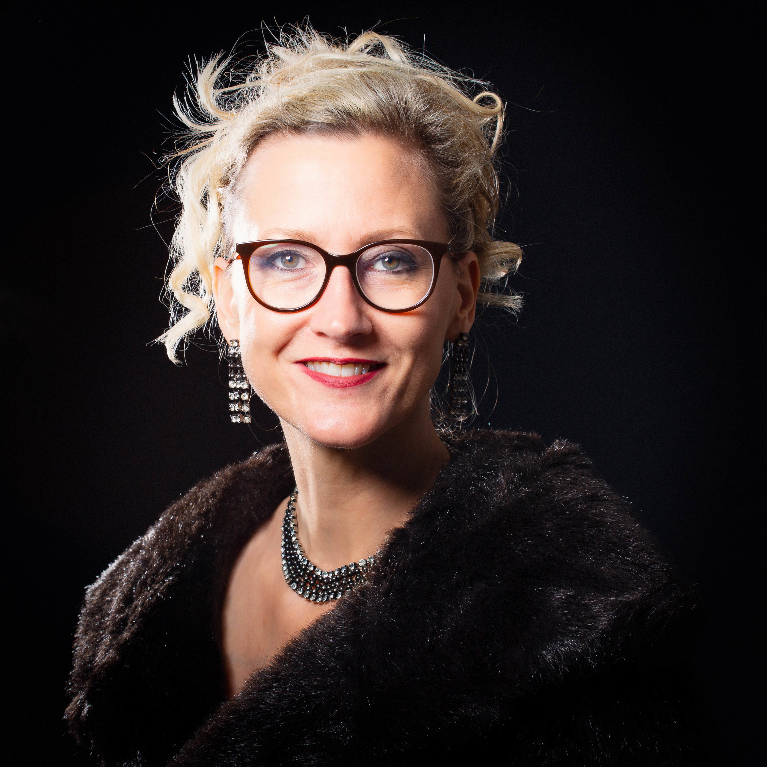 to celebrate strong women… - This is a fabulous way to celebrate strong women across all generations. The lady I bought my fake fur coat from told me it had belonged to her late Grandmother - Madeleine - who would definitely have approved of the shoot!Kate Cherry