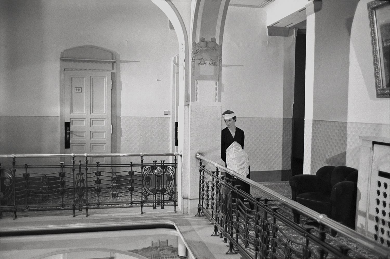 Single Chambermaid, Prague, Czechoslovakia
