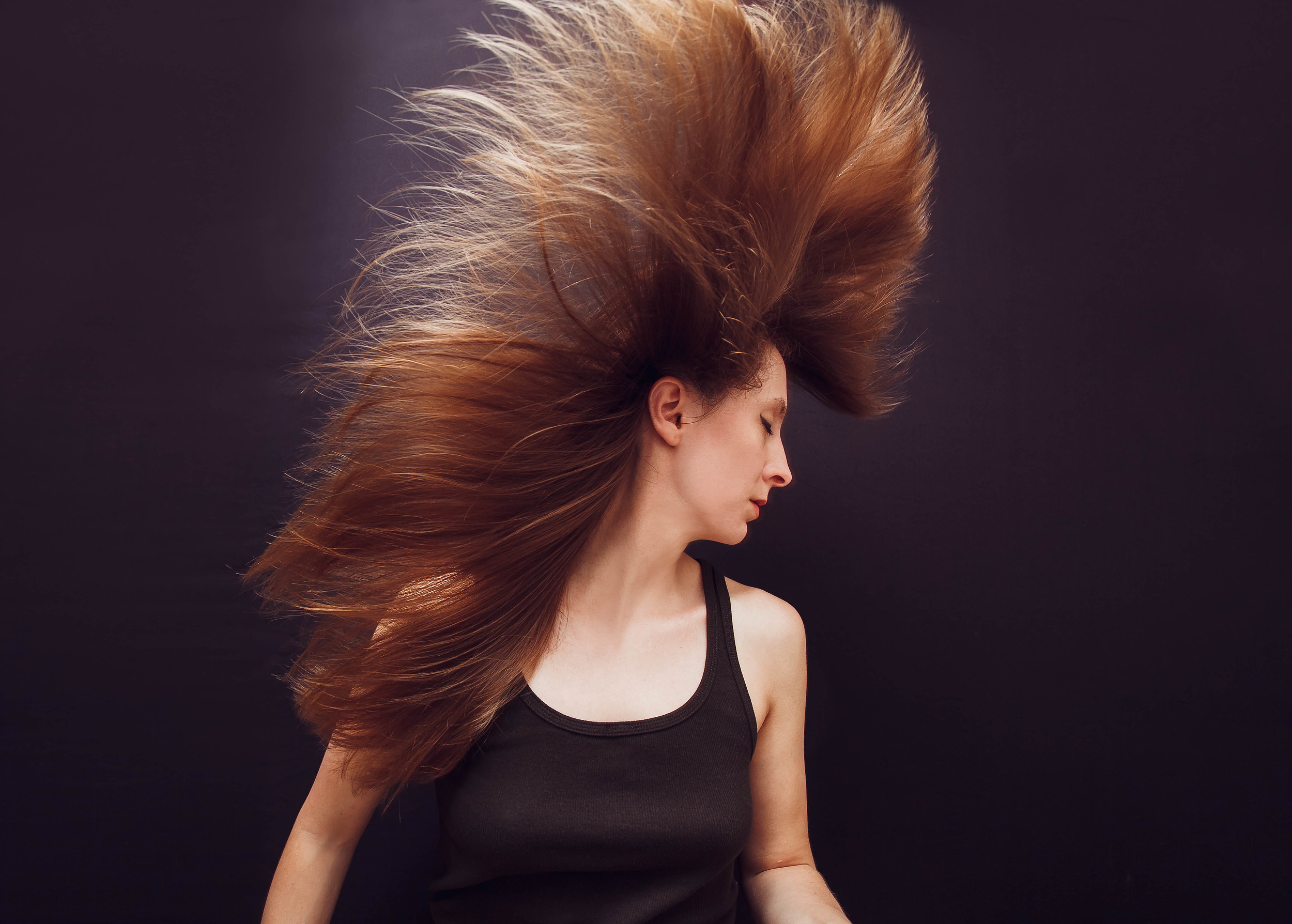 Golden Hair Self Portrait, grand prize winner #202Creates