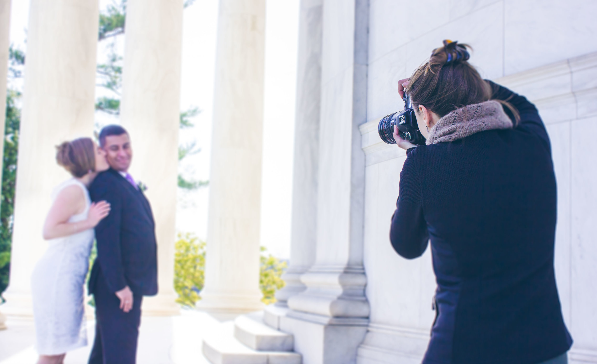 Jefferson Memorial Wedding Photography