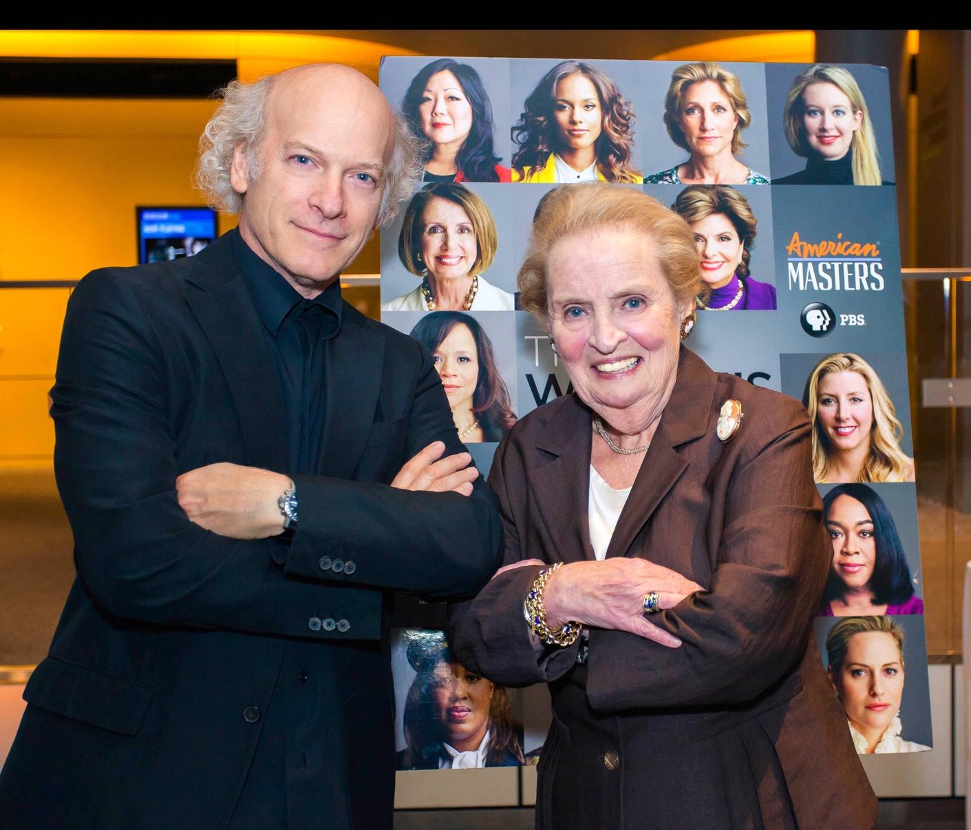 Madeleine Albright & Timothy Greenfield-Sanders